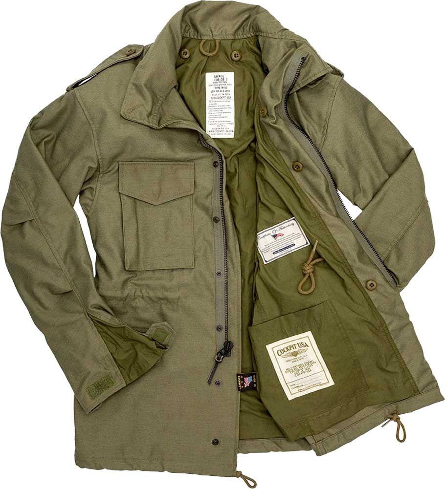 Mil-Tec US FELDJACKE M65 T//C M.FU.MULTITARN Outdoorjacke Jacke