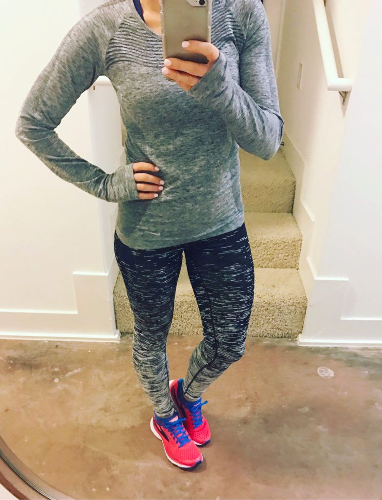 This is the BEST running shirt! Love the tights too. Nike Dry Knit Women s  Long Sleeve Running Top 4838ce7b68dad