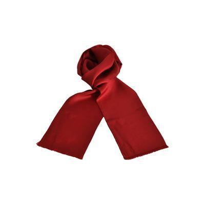 b2639d29dde3 Foulard homme en soie Carven uni rouge - Achat   Vente ECHARPE - FOULARD  Foulard homme uni rouge - Soldes  Cdiscount
