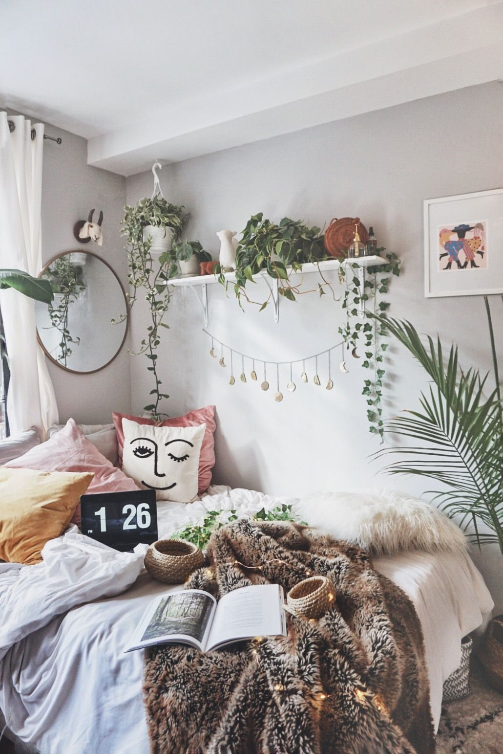 Winky Pillow From Urban Outfitters Home Bohemian Bedroom Decor