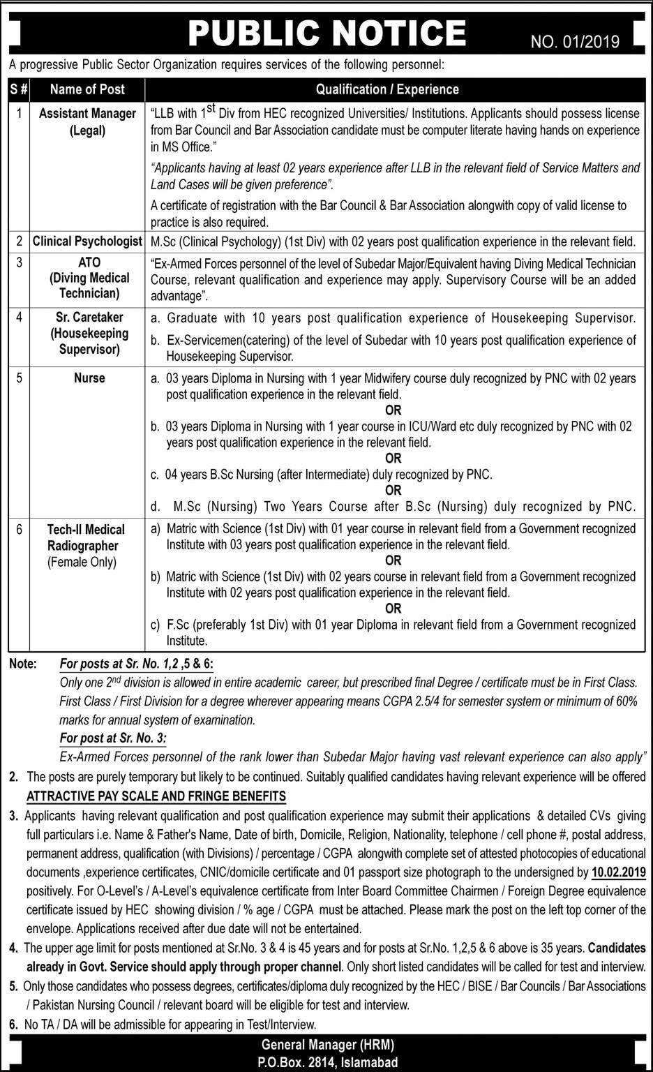 Punjab Public Service Commission PPSC Jobs Advertisement