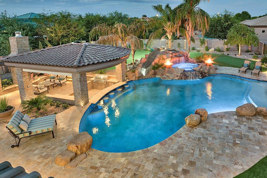 14 Amazing Backyard Pool Ideas With Images Luxury Swimming