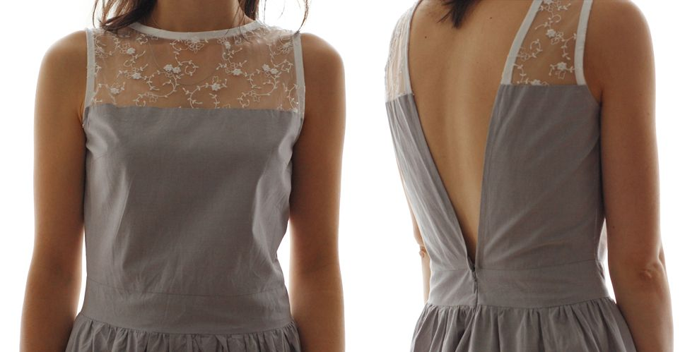 transformer un top back is back en robe superbe sew. Black Bedroom Furniture Sets. Home Design Ideas