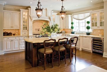 Lexington Glazed Latte Traditional Kitchen Cabinets Vancouver