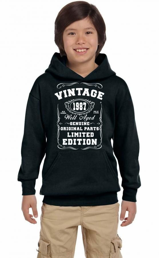 well aged original parts limited edition 1987 Youth Hoodie