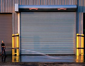 Rolling Steel Door Model 620 Garage Door Types Commercial Garage Doors Overhead Garage Door