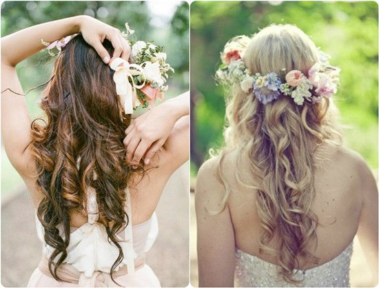 23 Romantic Wedding Hairstyles For Long Hair: 6 Ideas For Beautiful And Romantic Wedding Hairstyles With