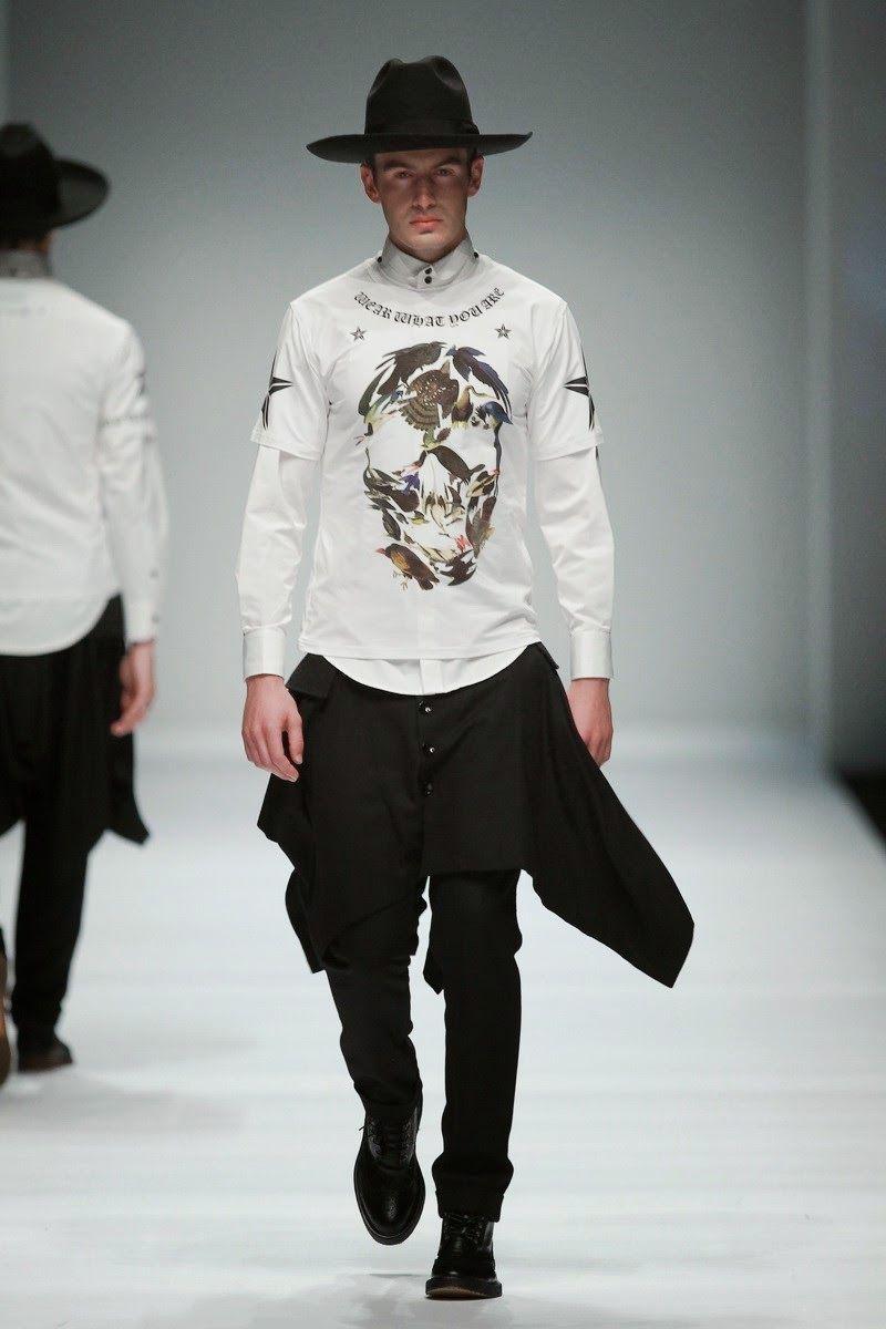 #Menswear #Trends JONNY FU  Spring Summer 2015 #Primvera Verano #Tendencias #Moda Hombre
