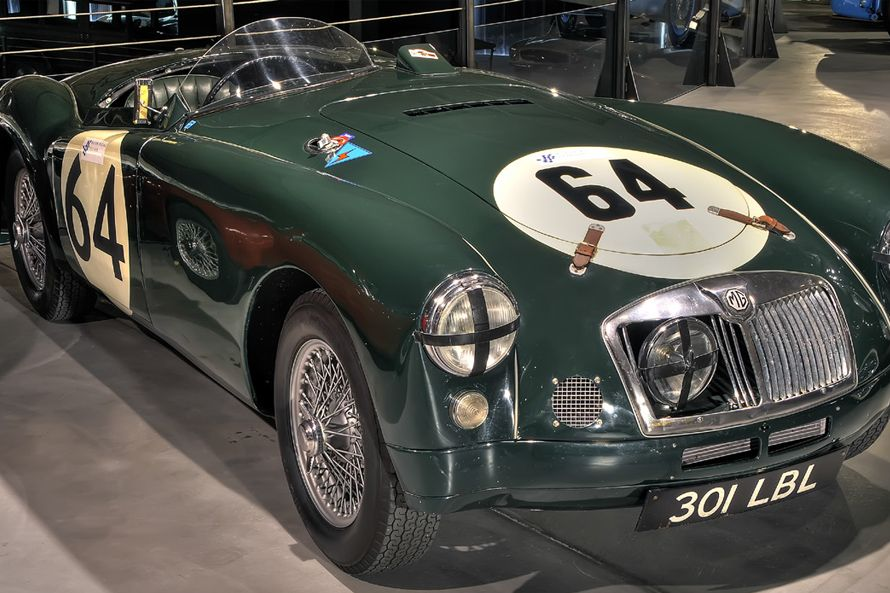 MG, A Le Mans Replica, 1955 | SPORTS CARS OF ENGLAND | Pinterest ...
