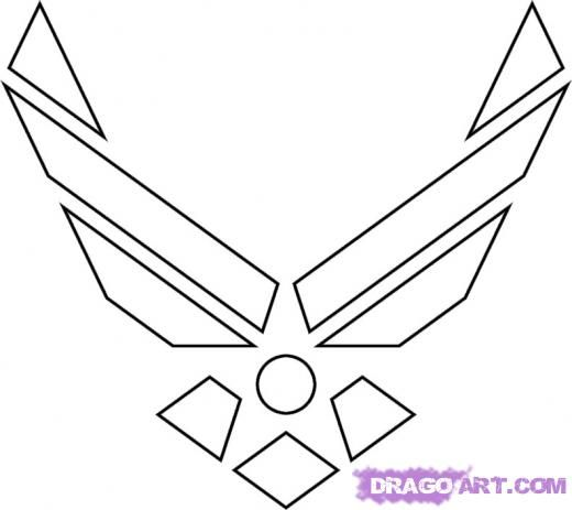 Air Force Logo Clip Art Air Force Military Symbol Gallery For Air
