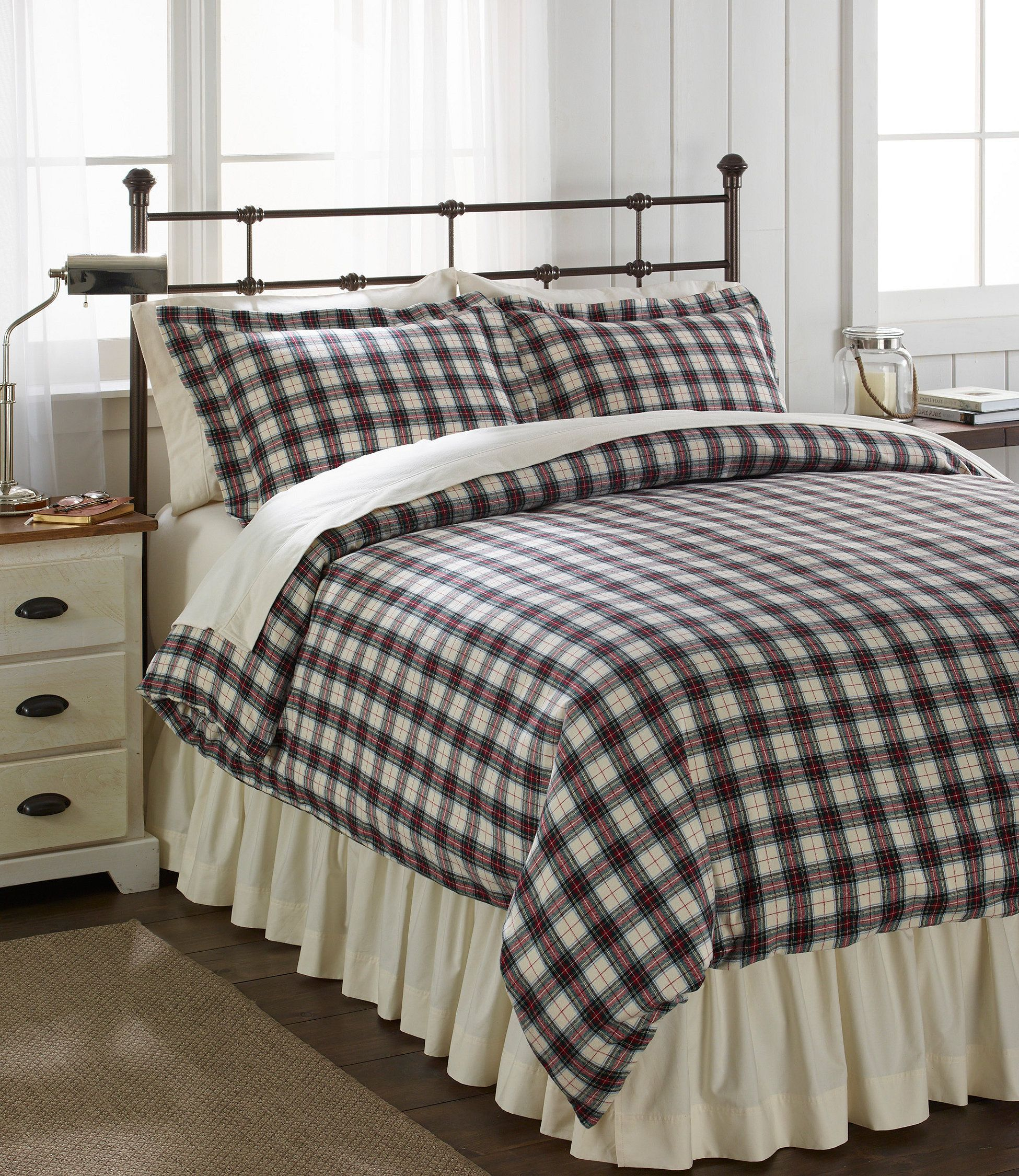 Heritage Chamois Flannel Comforter Cover Collection In 2019