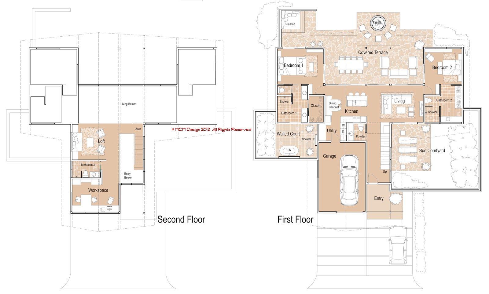 Floor-Plans.jpg (1600×963) | mcmarchitecture | Pinterest ...