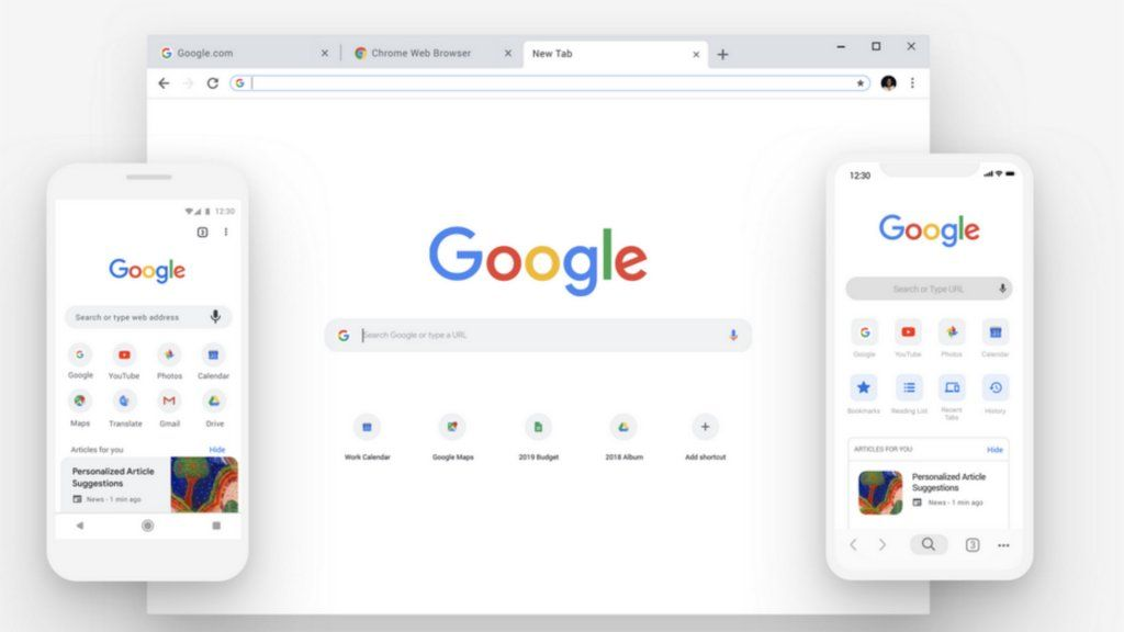Update je Chromebrowser Google repareert ernstig