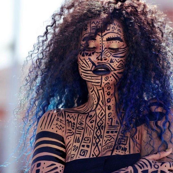 Inspriation pour la peinture rituelle du corps Ferash. – #Ferash # pour #Inspriation # …   – body paining