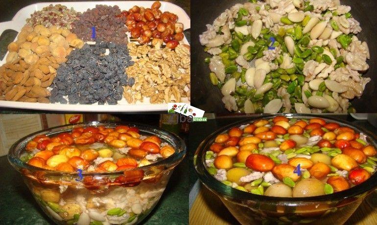Mixed 7 Dried Fruit Haft Mewa Recipe Afghan Food Recipes