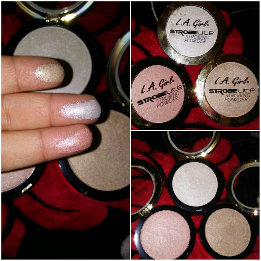 L.A.Girl #Highlighters#Affordable#Beautiful