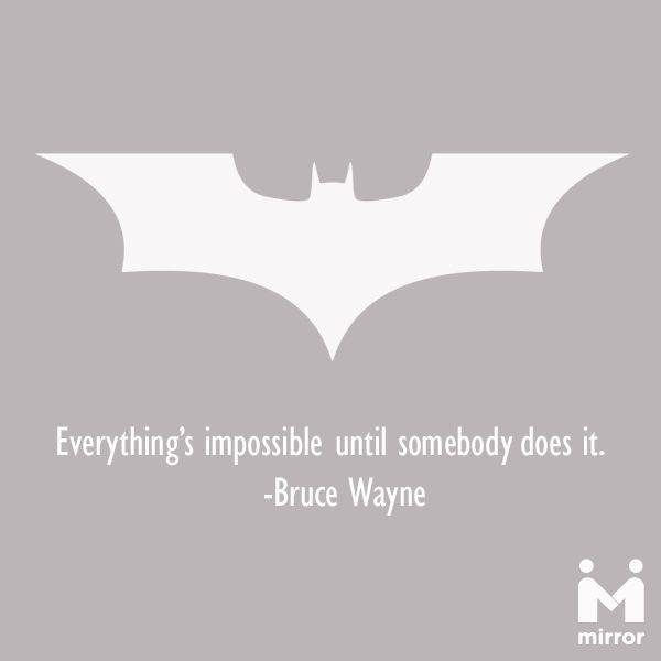 Batman The Legend I Always Felt It Quot Everything S