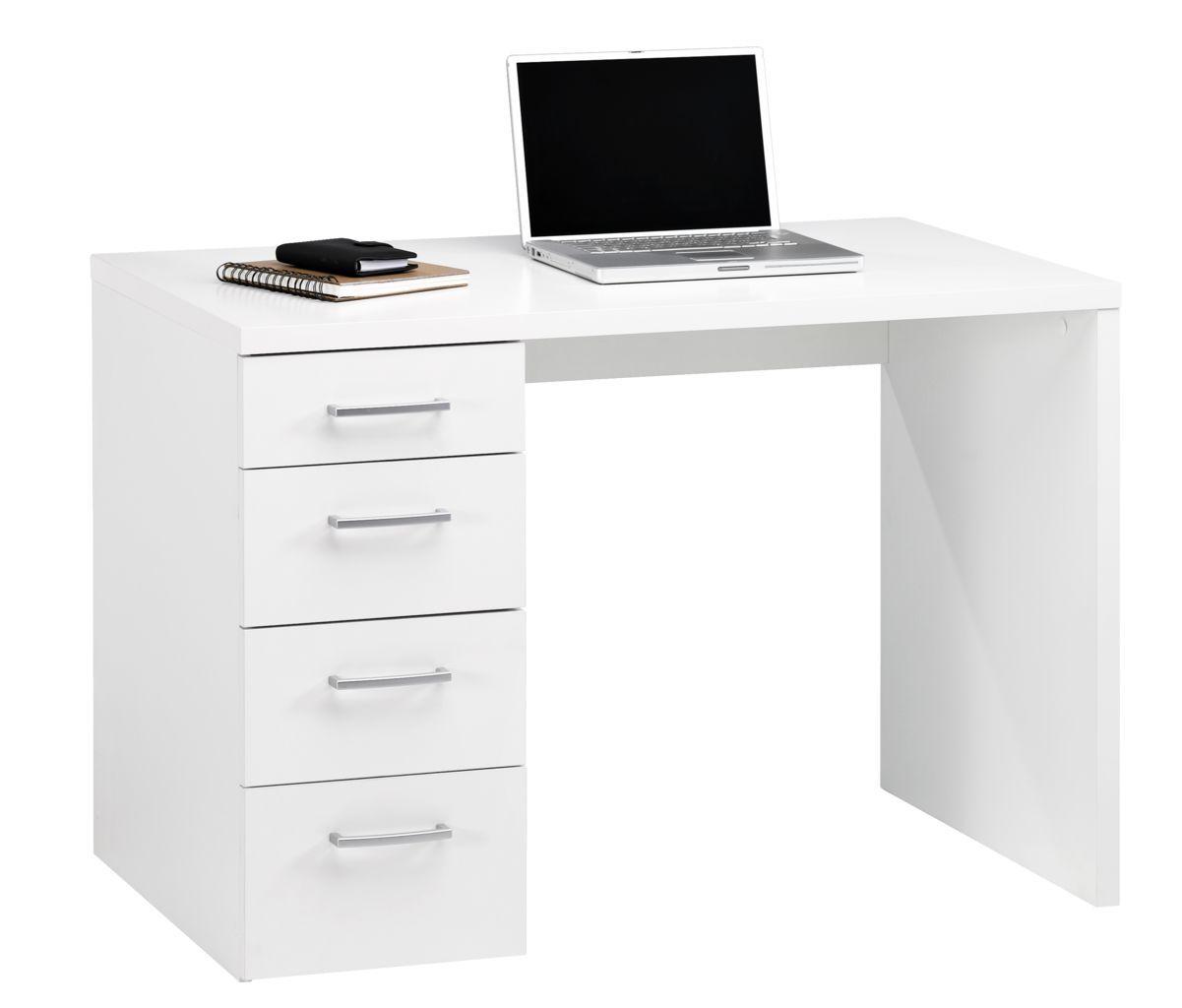 Desk MARSLEV 60x110 White (met Afbeeldingen)