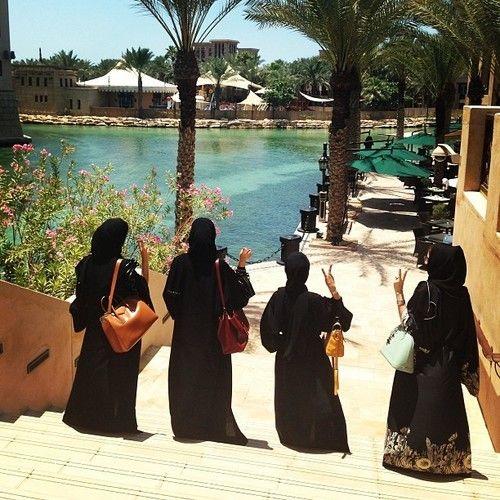 Arab women chilling :-)