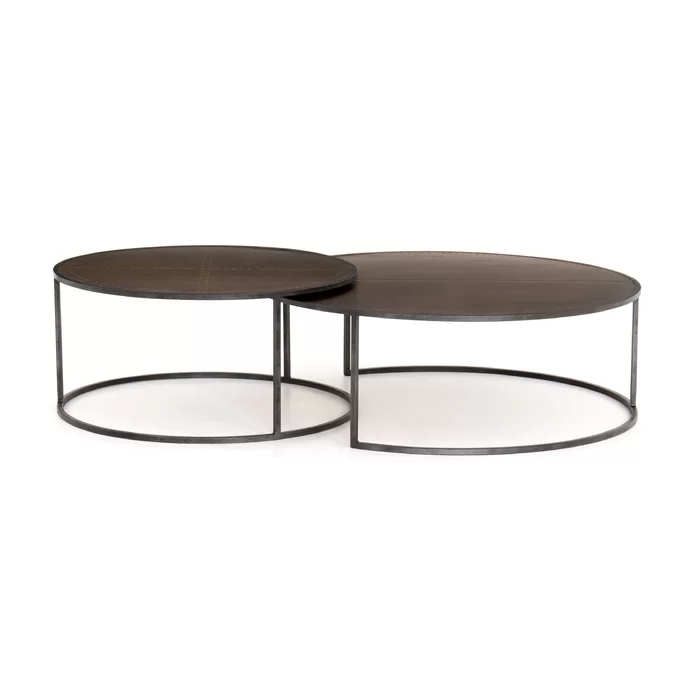 Four Hands Catalina Nesting Coffee Table Perigold Nesting Coffee Tables Coffee Table Coffee Table Length