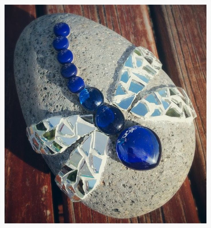 Mosaic Rocks Mosaic Garden Art Mosaic Rocks Mosaic Crafts
