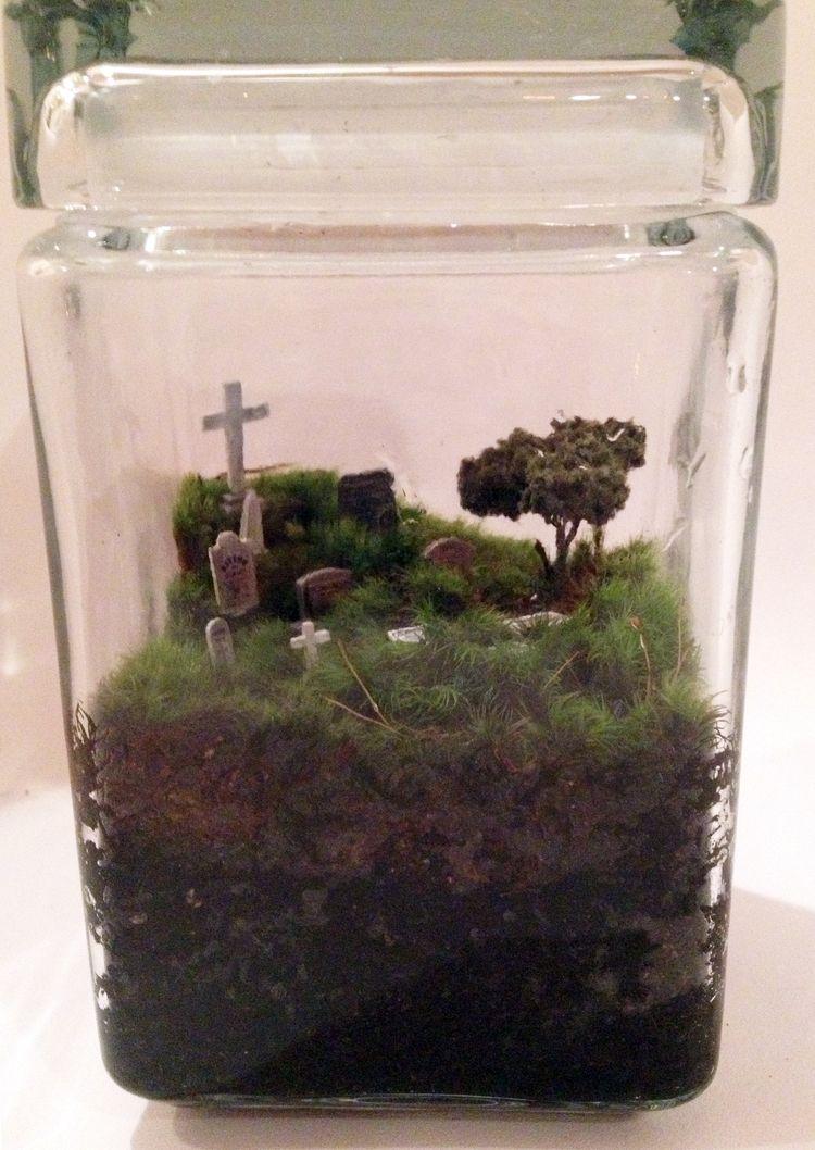 Gothic Cemetery Terrarium Inspirational Only Immortalis