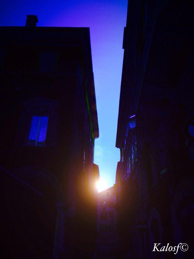 Sorgere al sole