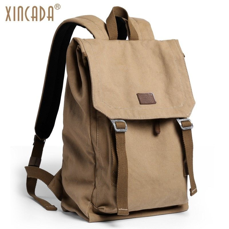 abc0efb28e Find More Backpacks Information about XINCADA Anti Theft Backpack Vintage  Canvas Backpack Men Travel Bags Laptop