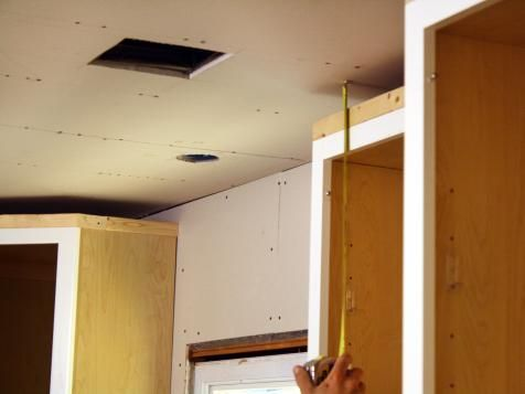 How to Install Kitchen Cabinet Crown Molding | Kitchen ...