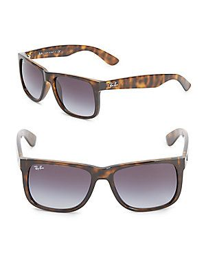 bf258a2574 Ray-Ban Justin Tortoise Shell Sunglasses - Brown - Size No Size ...