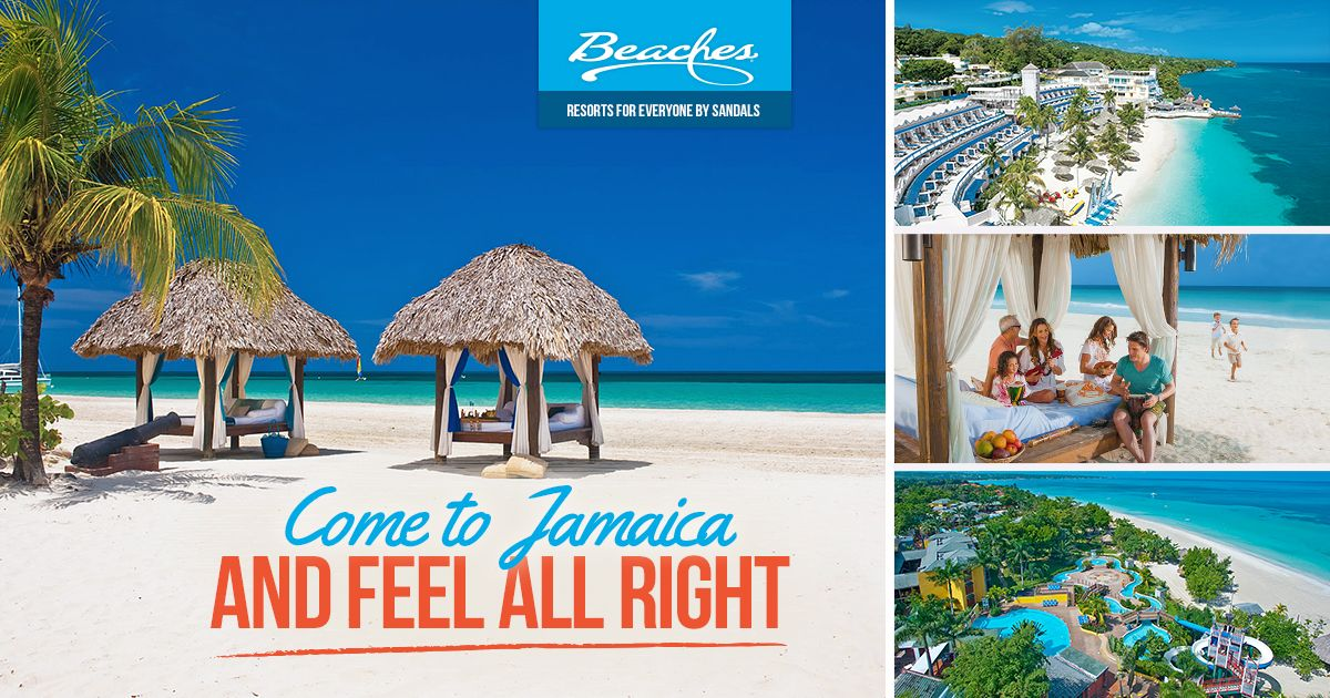 Enjoy An All Inclusive Vacation At Any Of Our Beaches Resorts In Jamaica