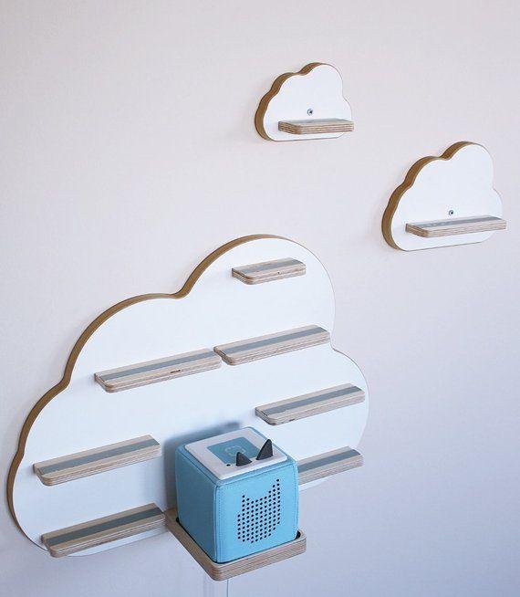 Kollektion BOARTI Wolke weiß - das Regal für die Musikbox
