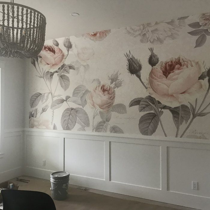 Brewster Home Fashions Komar La Maison Wall Mural Reviews Wayfair Girls Room Wallpaper Wall Decor Bedroom Baby Room Design