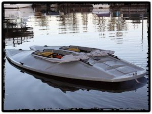 What are sneak boats used for?