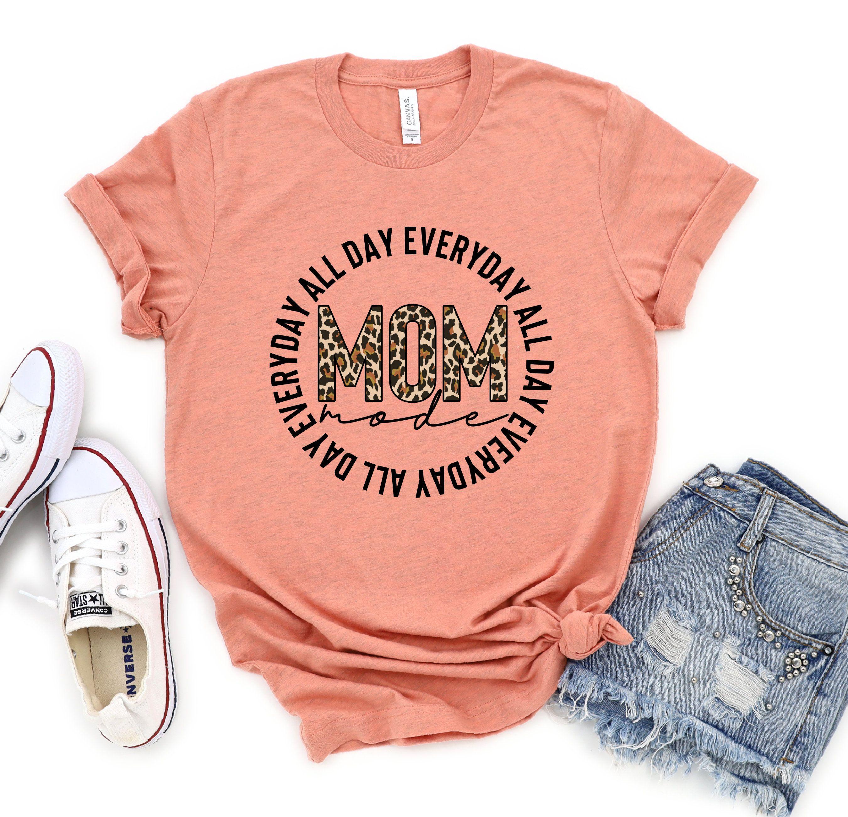Gift For Mama Cool Mom Tshirt Mom Life Shirt Trendy Mom Shirt Mothers Day T-shirt Mommy Life Shirt Mom to be Tshirt New Mom T-shirt