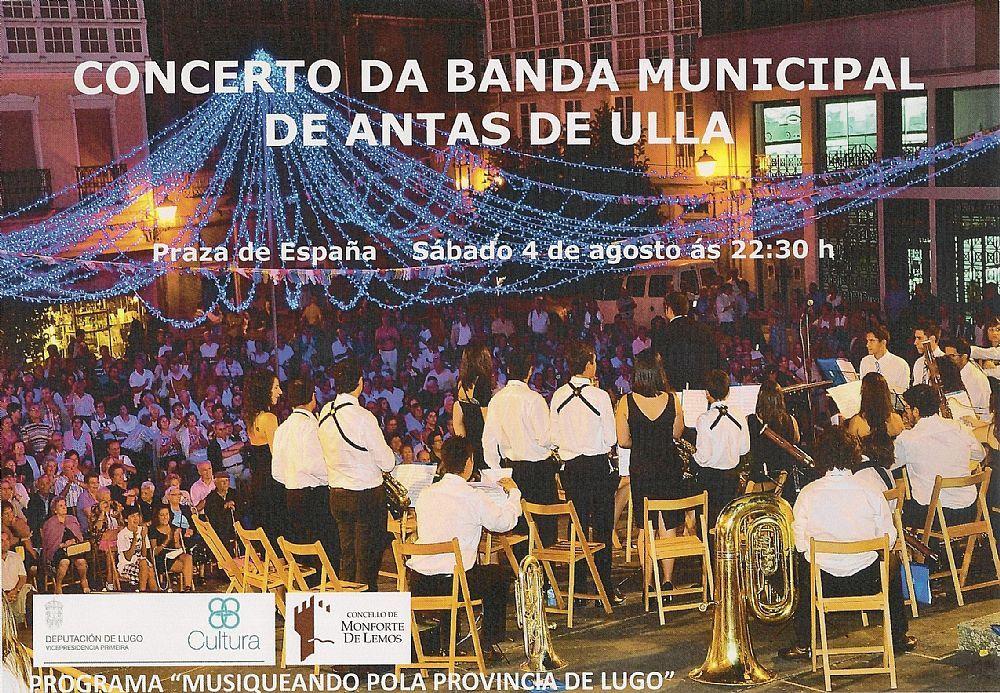 Concierto de la Banda Municipal de Antas de Ulla.
