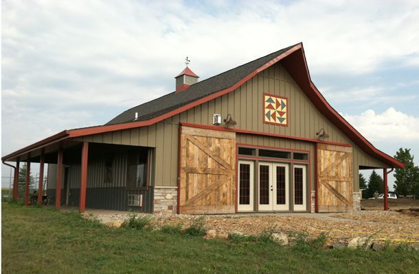 Top 20 Awesome Barndominium Design Ideas | Barn house ... Huge Barndominium