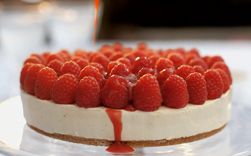 Mary Berry Everyday White Chocolate Cheesecake With