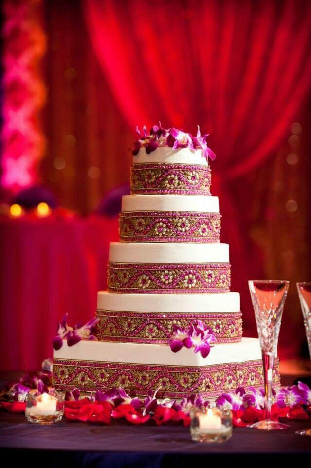 Beautiful Wedding Cake Wedding In 2018 Pinterest Indian