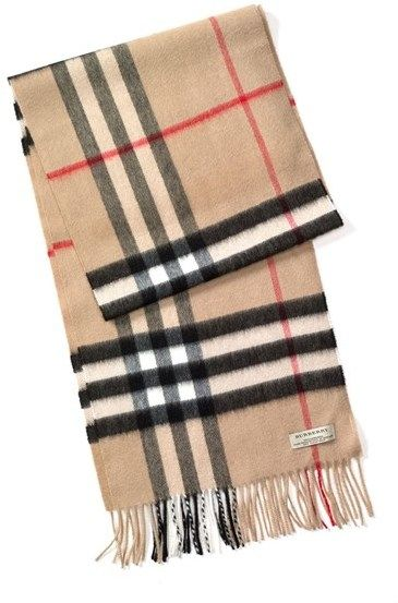 Burberry Giant Check Cashmere Scarf With Images Burberry Scarf Cashmere Scarf Burberry