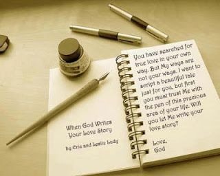 God writes your love story