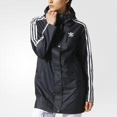 adidas Info Poster Rain Jacket | Jackets for women, Rain
