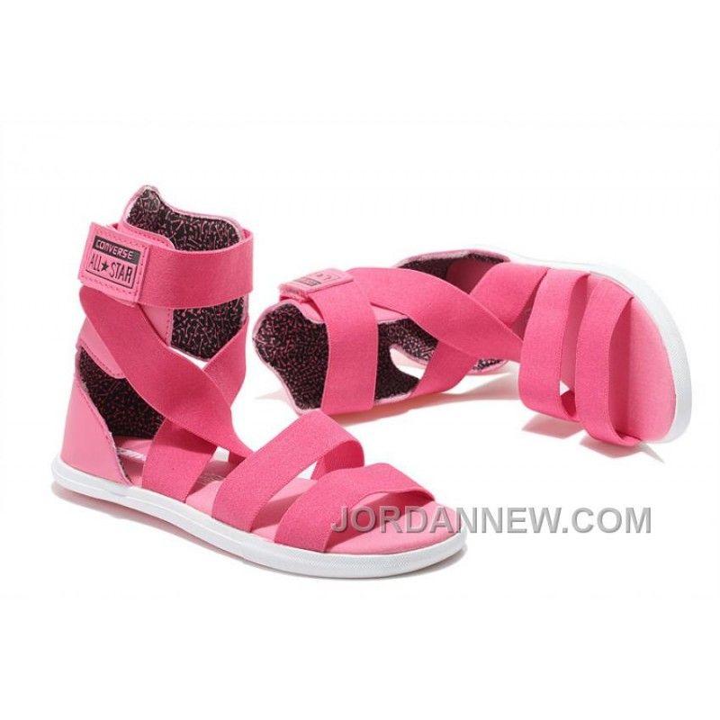 18165fed0642 Pink CONVERSE Chuck Taylor All Star Gore Roman Sandals Lastest ...