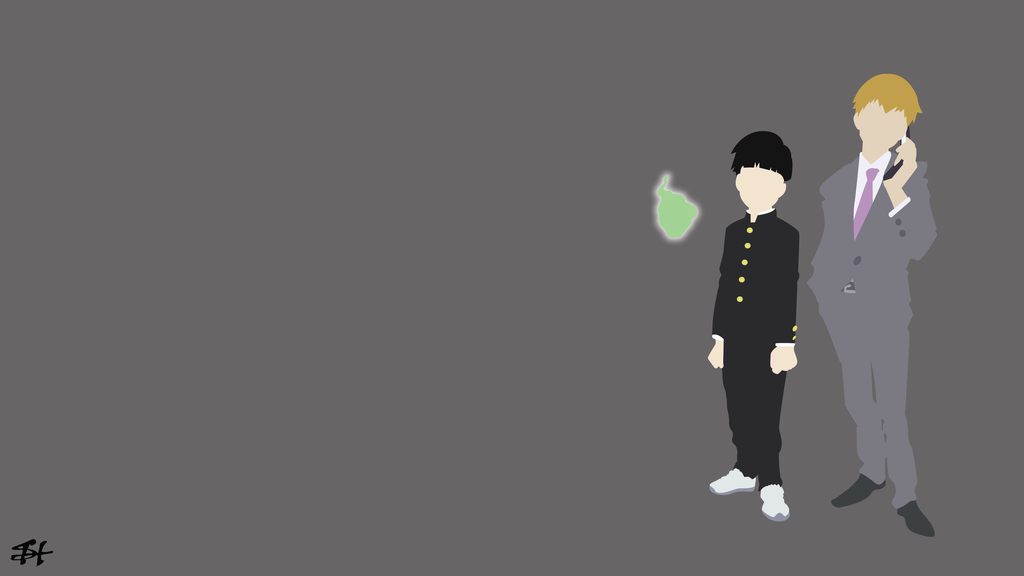 Mob Psycho 100 Minimalist Wallpaper By Slezzy7 Mob Psycho 100 Wallpaper Mob Psycho 100 Mob Psycho