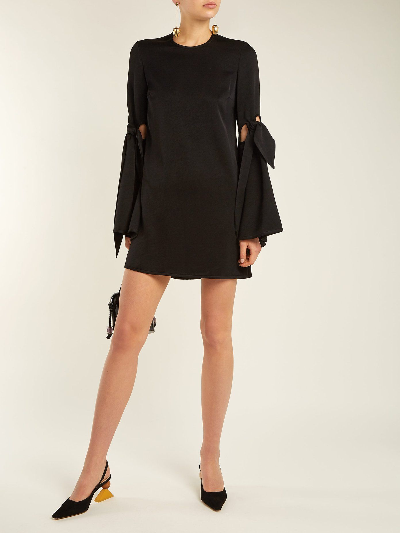 Thelma cut-out sleeve mini dress Ellery Outlet Wide Range Of HQtzR