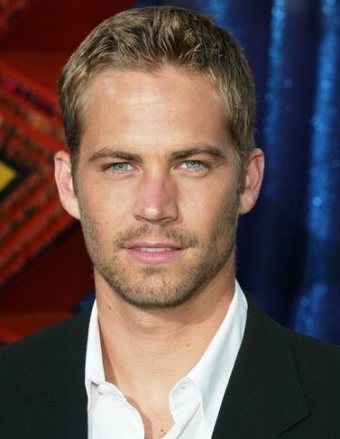 A Short Blonde Hairstyle For Men Paul Walker Rip 2017