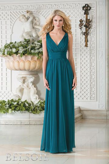 teal gown Jasmine