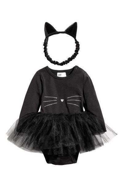 0672bfac3e Fancy dress costume - Black/Cat - Kids | H&M GB | halloween costumes ...