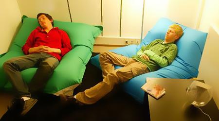Salle de sieste en entreprise break espace d tente for Espace de relaxation