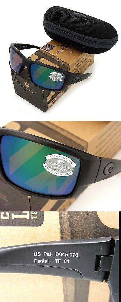 654bd47842c Sunglasses 151543  New Costa Del Mar Fantail Blackout   580 Green Mirror  Glass 580G -